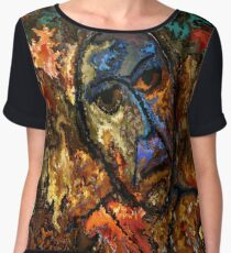 modern composition 26 by rafi talby Women's Chiffon Top