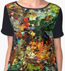 modern composition 27 by rafi talby Women's Chiffon Top