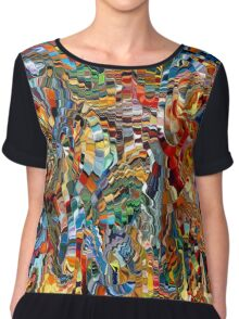 modern composition 29 by rafi talby Chiffon Top