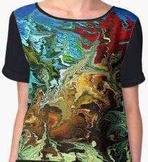 modern composition 30 by rafi talby Women's Chiffon Top