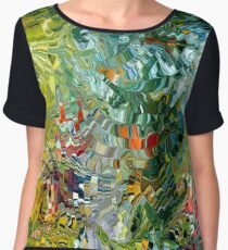 modern composition 31 by rafi talby Chiffon Top