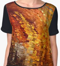 modern composition 33 by rafi talby Chiffon Top