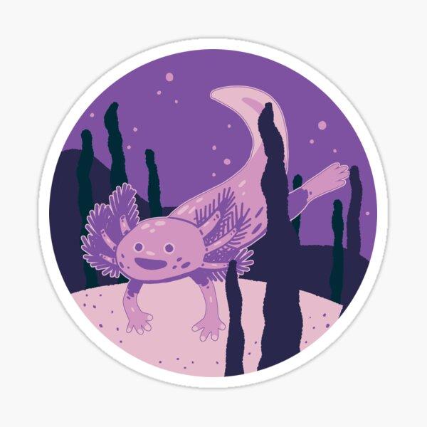Axolotl Friend Sticker