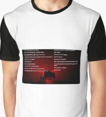 Muse Neutron Star Collision Lyrics Graphic T-Shirt