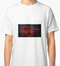 Muse Neutron Star Collision Lyrics Classic T-Shirt