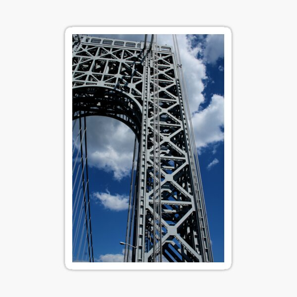 George Washington Bridge, NYC 6/30/16 Sticker