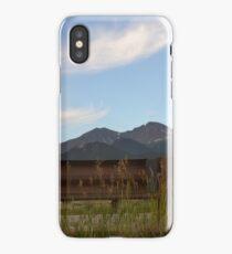 Long's Peak from Lake Estes iPhone Case/Skin