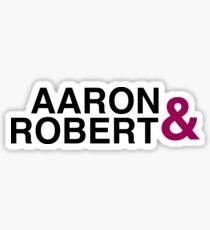 Robron | Aaron & Robert Sticker