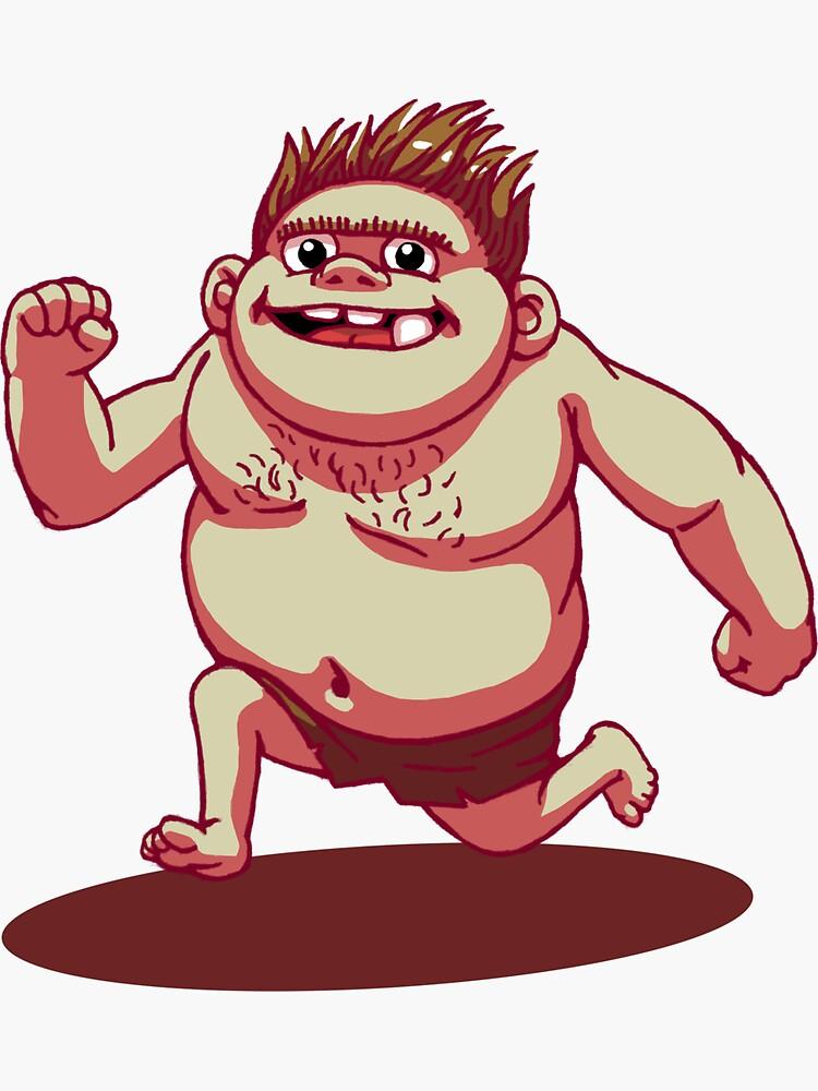 Ogg The Trollboy by mvandinter