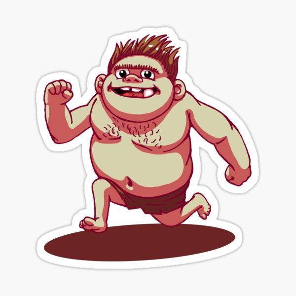 Ogg The Trollboy Sticker