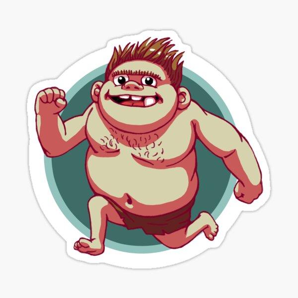 Ogg The Trollboy2 Sticker