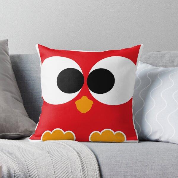eule rot, owl Dekokissen