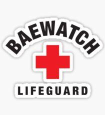 Baewatch Lifeguard Sticker