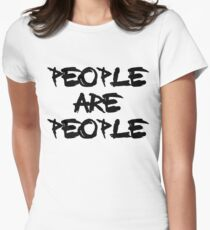People Are People - Depeche Mode Womens Fitted T-Shirt