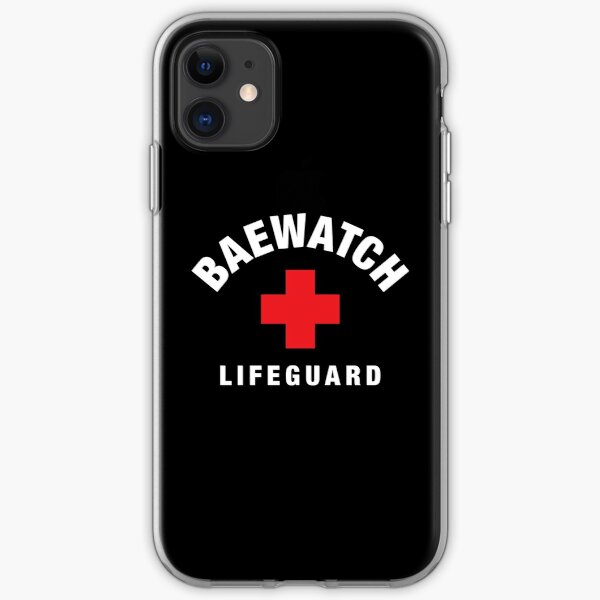 Baewatch Lifeguard iPhone Soft Case