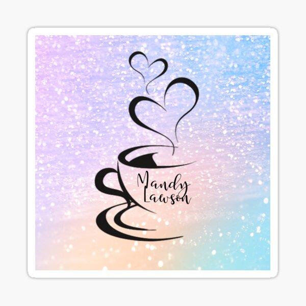 Mandy Logo Rainbow Sticker