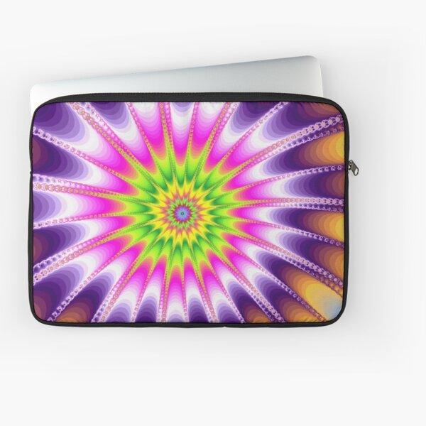 Fraktal Violet Laptoptasche