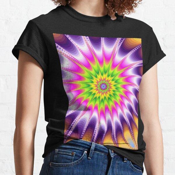 Fraktal Violet Classic T-Shirt