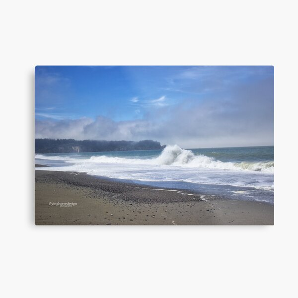 Big Surf - northern CA coast Metal Print