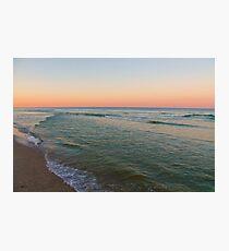 Calm Waves Photographic Print