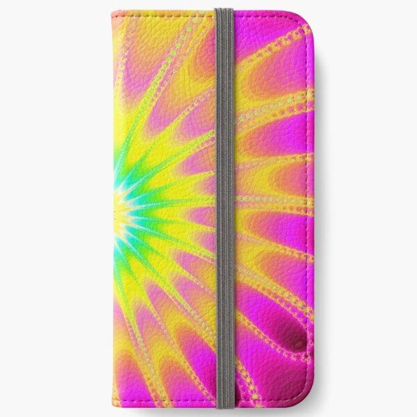 Fraktal Happy Summer iPhone Flip-Case