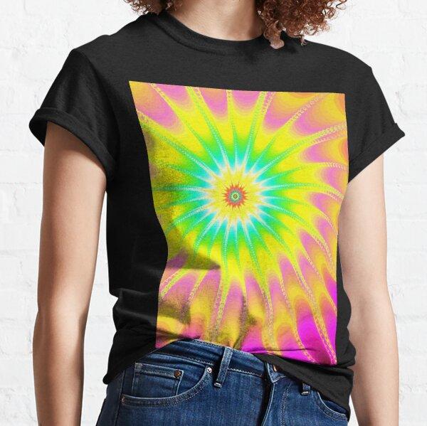 Fraktal Happy Summer Classic T-Shirt
