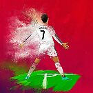 Cristiano Ronaldo dust edit by Mark White