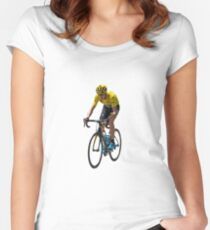 Chris Froome Women's Fitted Scoop T-Shirt