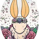 Flower Crown Moth I by Mary Capaldi