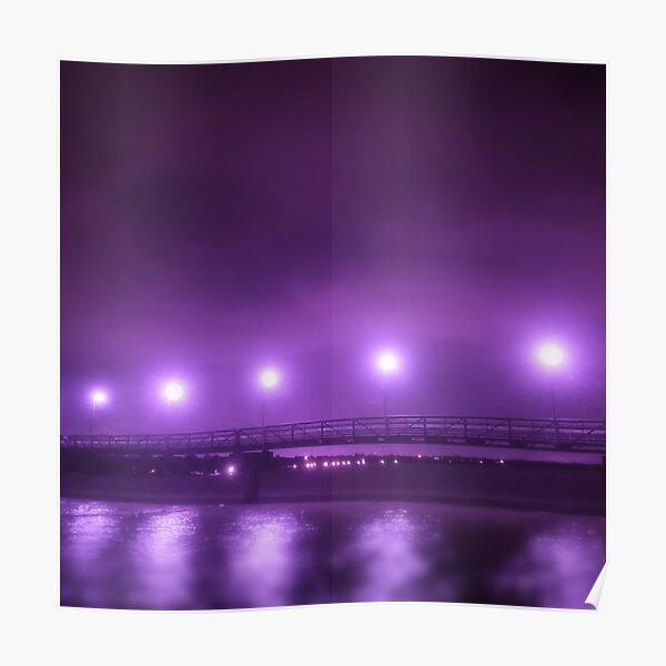 Purple Bridge Poster