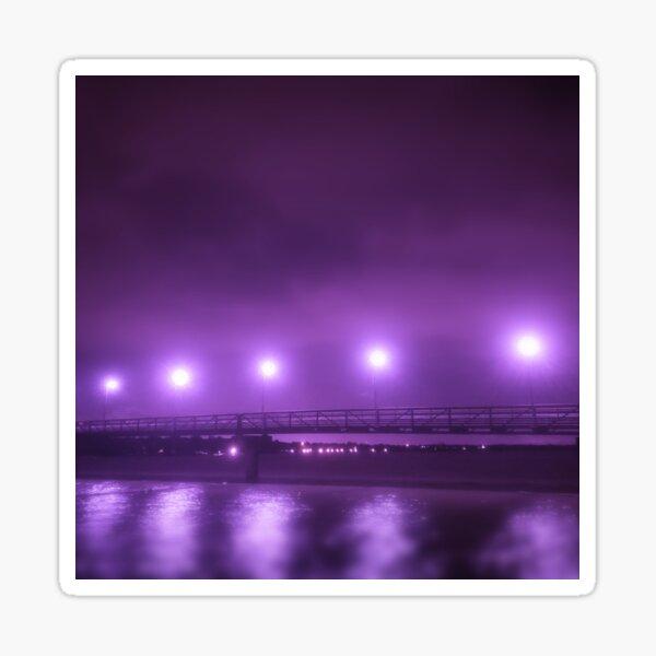 Purple Bridge Sticker