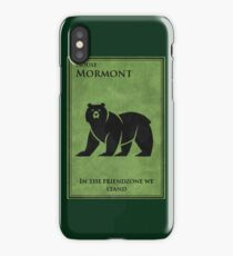 friendzone mormont iPhone Case/Skin