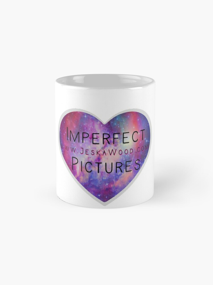 Alternate view of Imperfect Pictures Galaxy Heart Mug