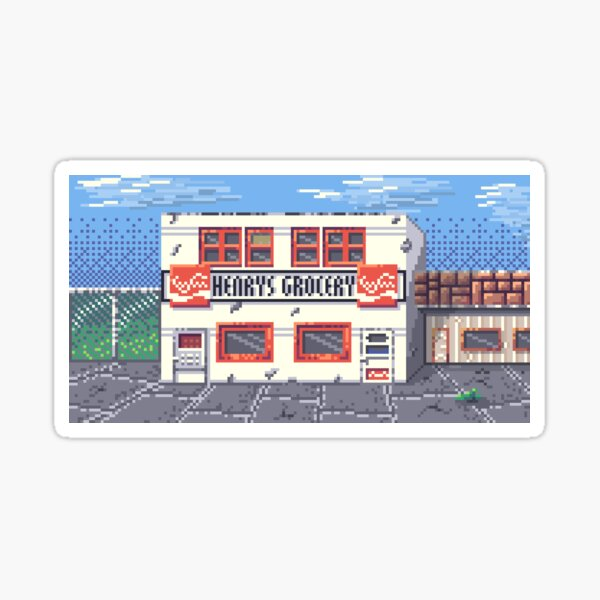 Henry's Grocery Sticker