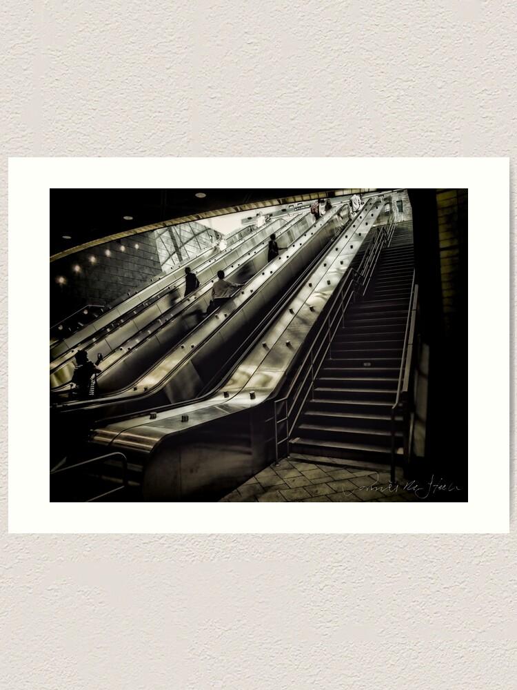 Alternate view of Hudson Yards Subway Station Art Print