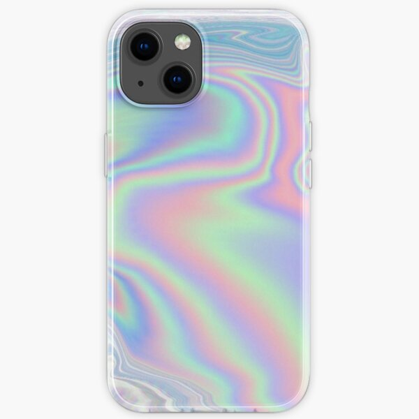 Holographic Pattern iPhone Soft Case