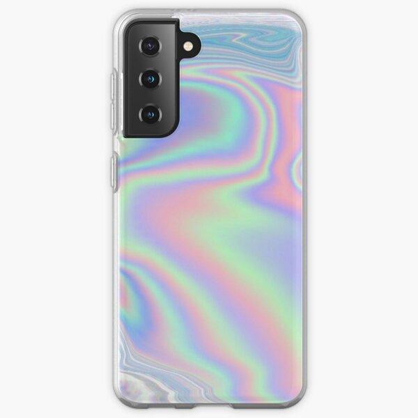 Holographic Pattern Samsung Galaxy Soft Case