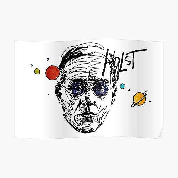 Gustav Theodore Holst Poster