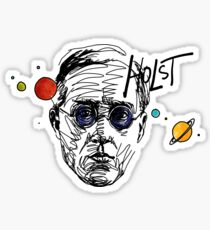 Gustav Theodore Holst Sticker