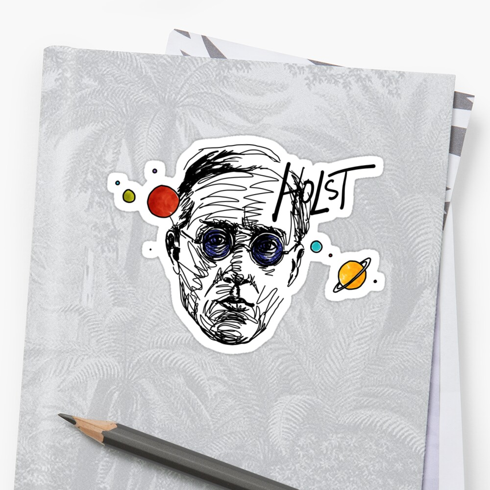 Gustav Theodore Holst by fortissimotees