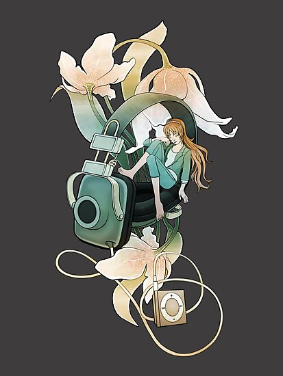 Thumbelina - grey by BlancaJP