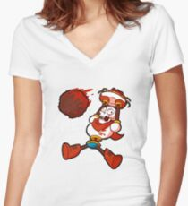 papyrus Women's Fitted V-Neck T-Shirt