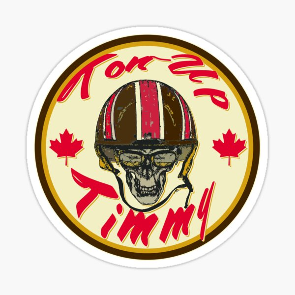 Cafe Racer CANADA Ton-Up Timmy Sticker