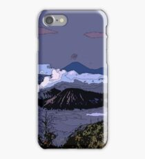 Mountains // Comic Style iPhone Case/Skin