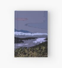 Mountains // Comic Style Hardcover Journal