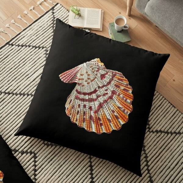 Psychedelic Sea Shell Floor Pillow