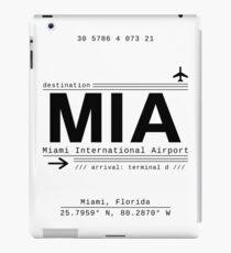 MIA Miami International Airport Call Letters iPad Case/Skin
