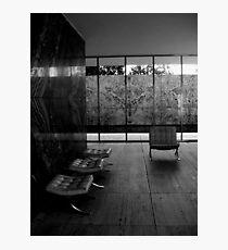 Barcelona Pavilion, Mies van der Rohe Photographic Print