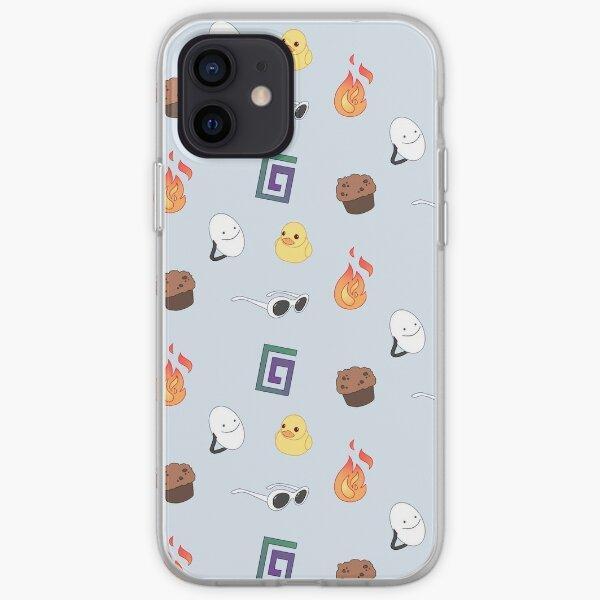 Feral Boys + BadBoyHalo Pattern iPhone Soft Case