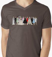 Audrey Group Fashion Mens V-Neck T-Shirt